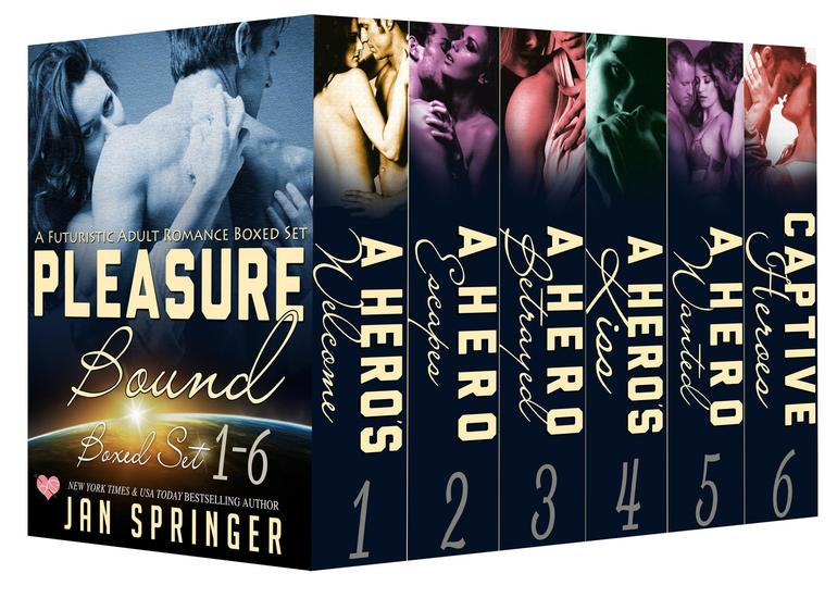 Pleasure Bound : COMPLETE SERIES SciFi Erotic Romance Boxed Set - Pleasure Bound Boxed Set - cover