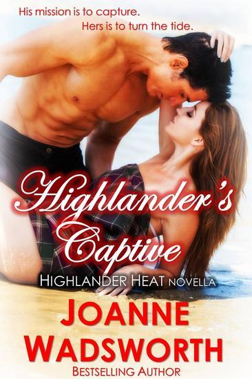 Highlander's Captive - Highlander Heat #7 - cover