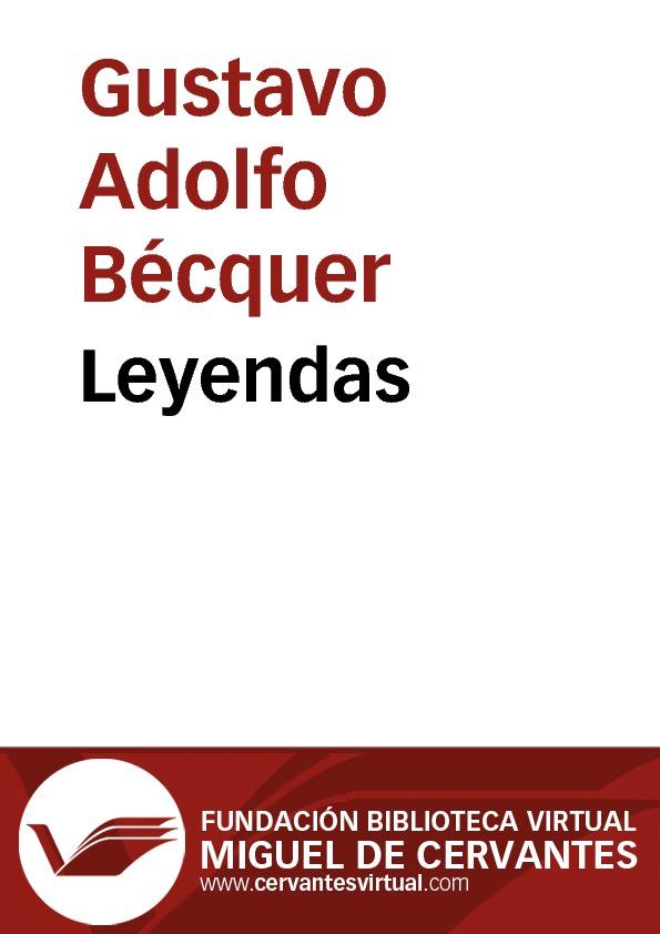 Leyendas - cover