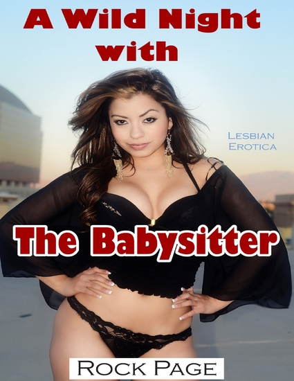 A Wild Night With the Babysitter (Lesbian Erotica) - cover