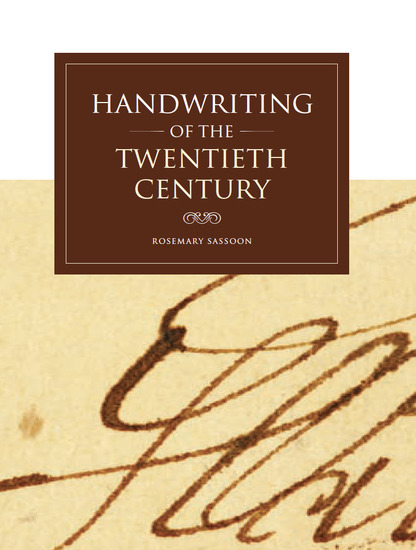 Handwriting of the Twentieth Century - cover