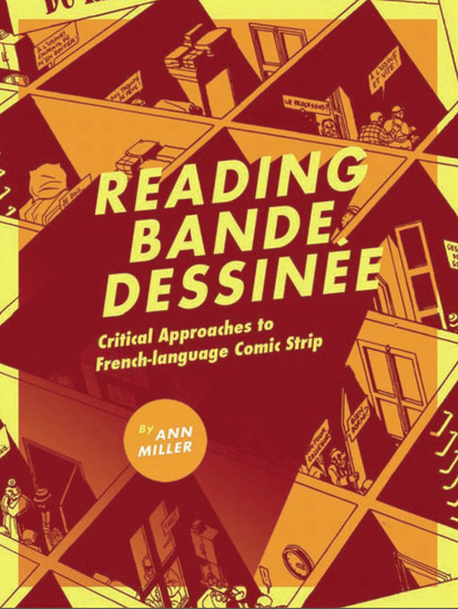 Reading bande dessinee - Critical Approaches to French-language Comic Strip - cover
