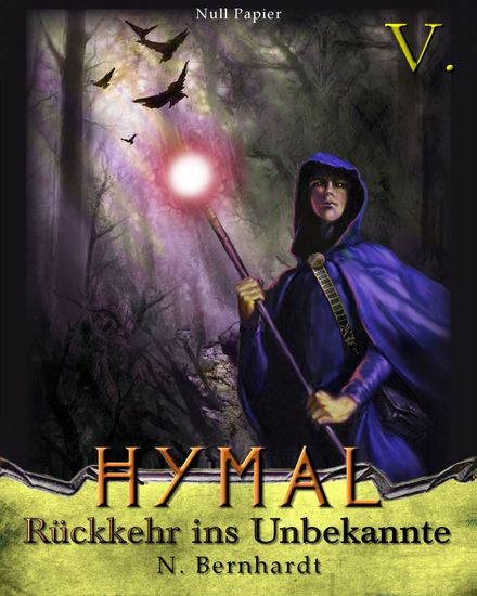 Der Hexer von Hymal Buch V - Rückkehr ins Unbekannte - cover