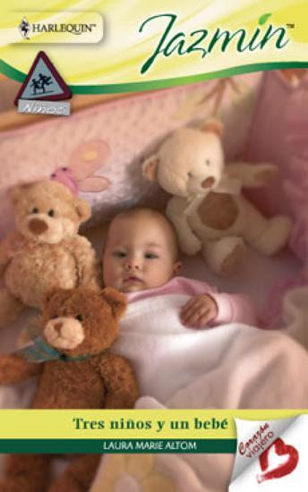 Tres niños y un bebé - cover