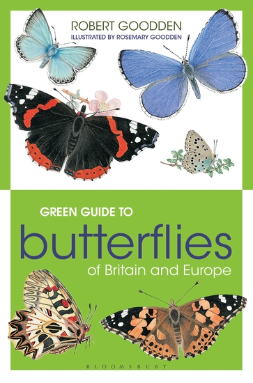 Green Guide to Butterflies Of Britain And Europe - cover