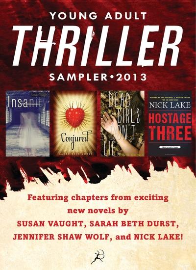 Bloomsbury YA 2013 Thriller eSampler - cover