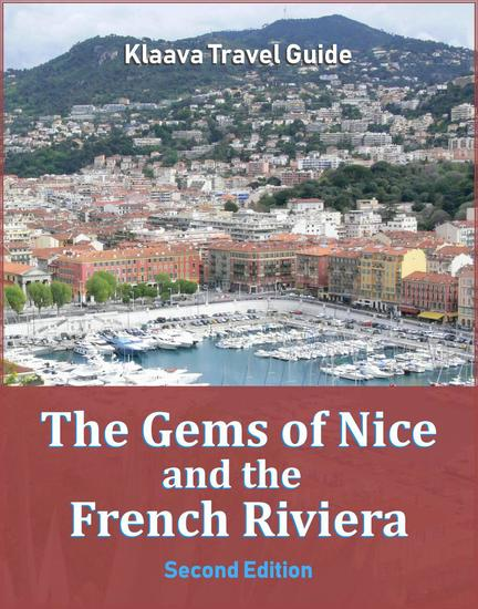 The Gems of Nice and the French Riviera - Klaava Travel Guide - cover